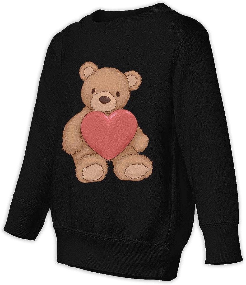 Fleece Pull Over Sweatshirt for Boys Girls Kids Youth Cartoon Cute Bear Unisex Toddler Hoodies
