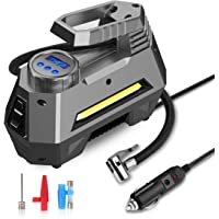 $33 » joyroom Portable Air Compressor Tire Inflator CZK-3631, Car Tire Pump with Digital Pressure Gauge…