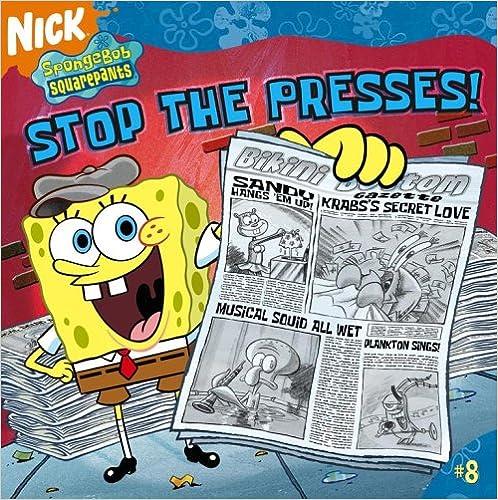 Book Stop the Presses! (SpongeBob SquarePants)