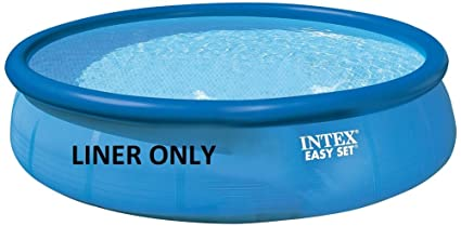 Amazon Com Intex 18 X 48 Round Easy Set Swimming Pool Only