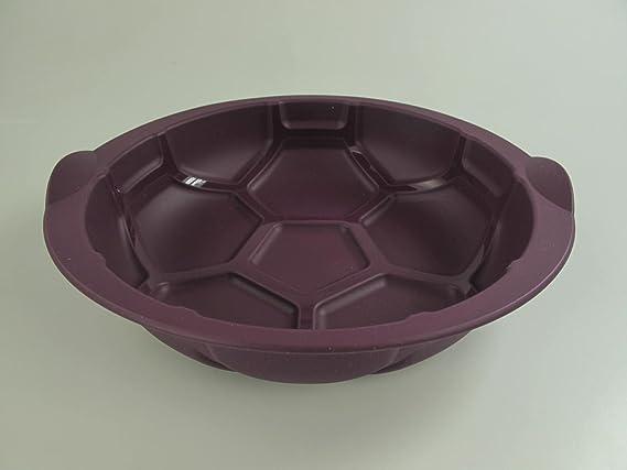 TUPPERWARE Molde de Silicona Redondo fútbol football soccer púrpura 10727: Amazon.es: Hogar