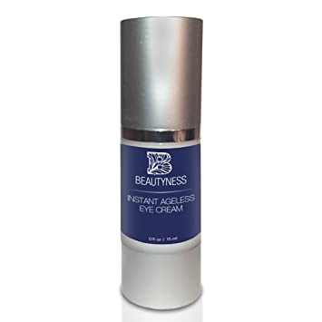 7d557a630b Instant Ageless Eye Cream – Anti Wrinkle Cream, Removes Under Eye  Puffiness, Expression Line, Dark...