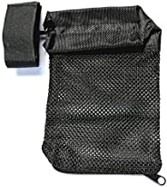 Hunting Accessories Tactical Nylon AR-15 Ammo Brass Shell Catcher Mesh Trap Zippered Closure Bag Black. 223/5.