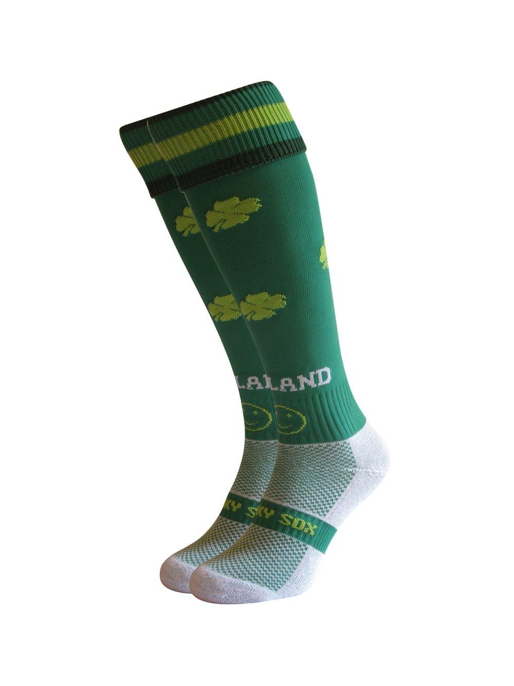 Wacky Sox Calzini sportivi Irlanda Adult Shoe Size 11-14