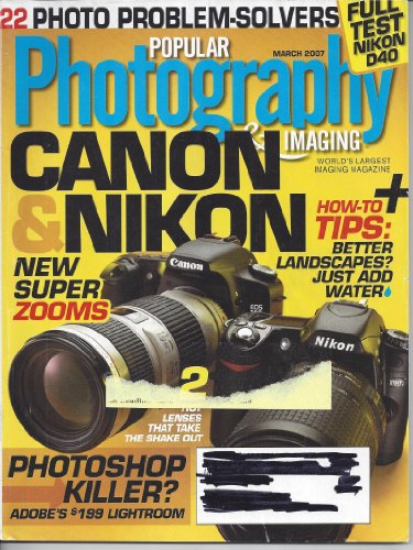 Popular Photography & Imaging Magazine March ()