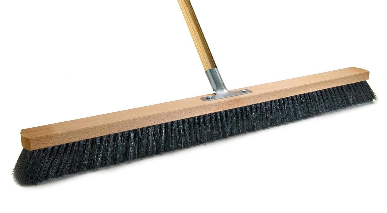 BawiTec Profi Saalbesen Großraumbesen Haarmischung Haarmischung Haarmischung mit Stiel schwarz-weich (Breite 100cm   Stiel 160cm) B00BK0F522 Schaufel & Besen Sets eff32b