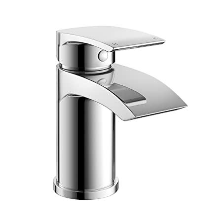 IBathUK Cloakroom Basin Sink Mixer Tap Chrome Modern Bathroom Faucet TB141