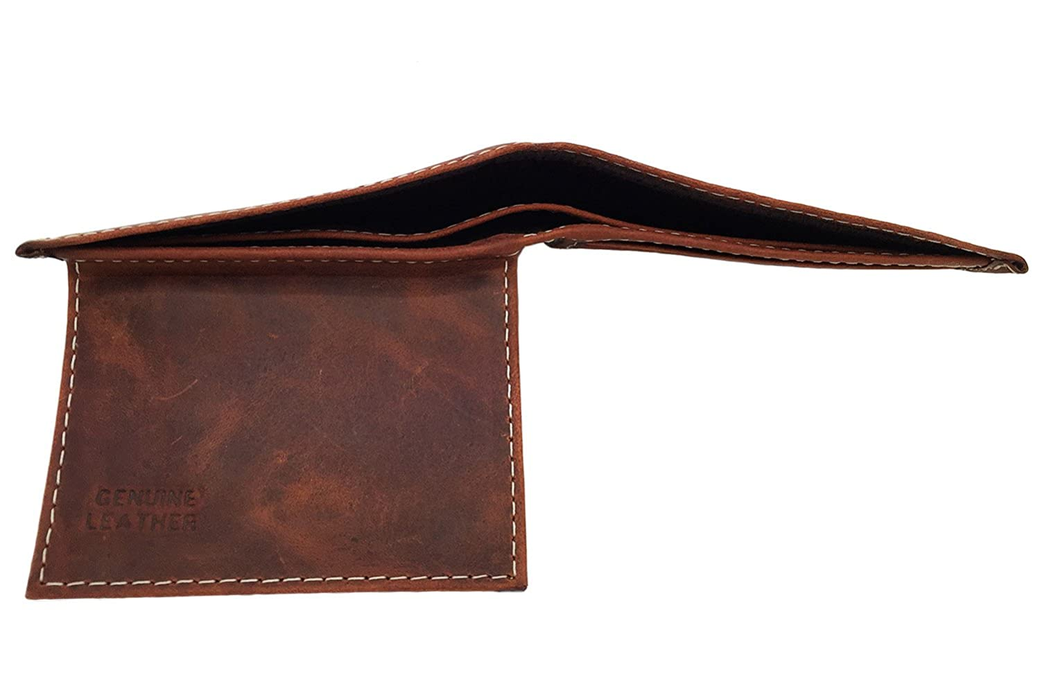 Wallet for Men 1 BEST Genuine 100/% Cowhide Leather Mens Handcrafted Bifold Wallet by AVIMA