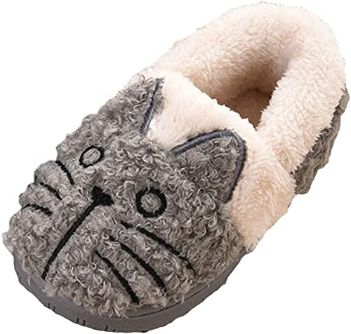Liveinu Kids//Toddlers Plush Indoor Shoes Winter Fuzzy Warm House Slippers Booties