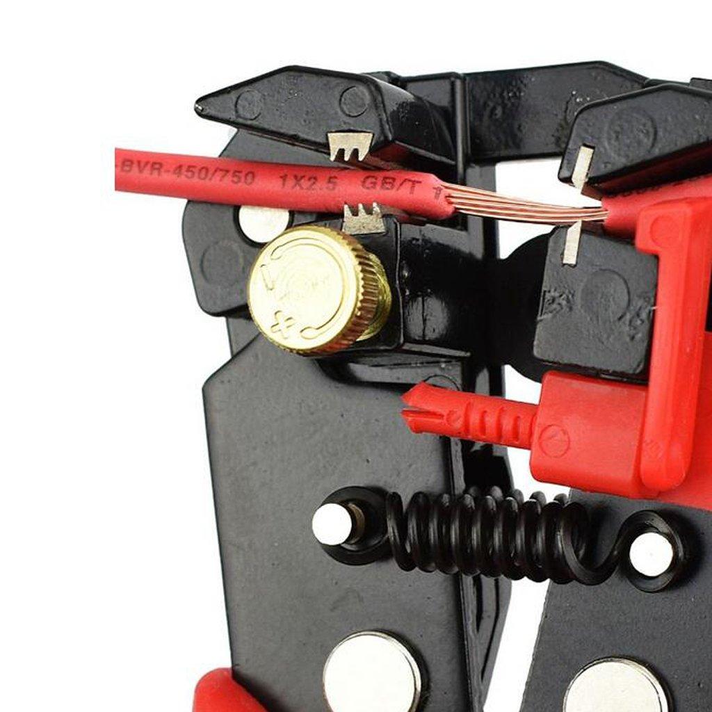 Baosity Red Crimper & 350 x Crimp Butt Terminals & 328 x Tubings in Compact Storage Case