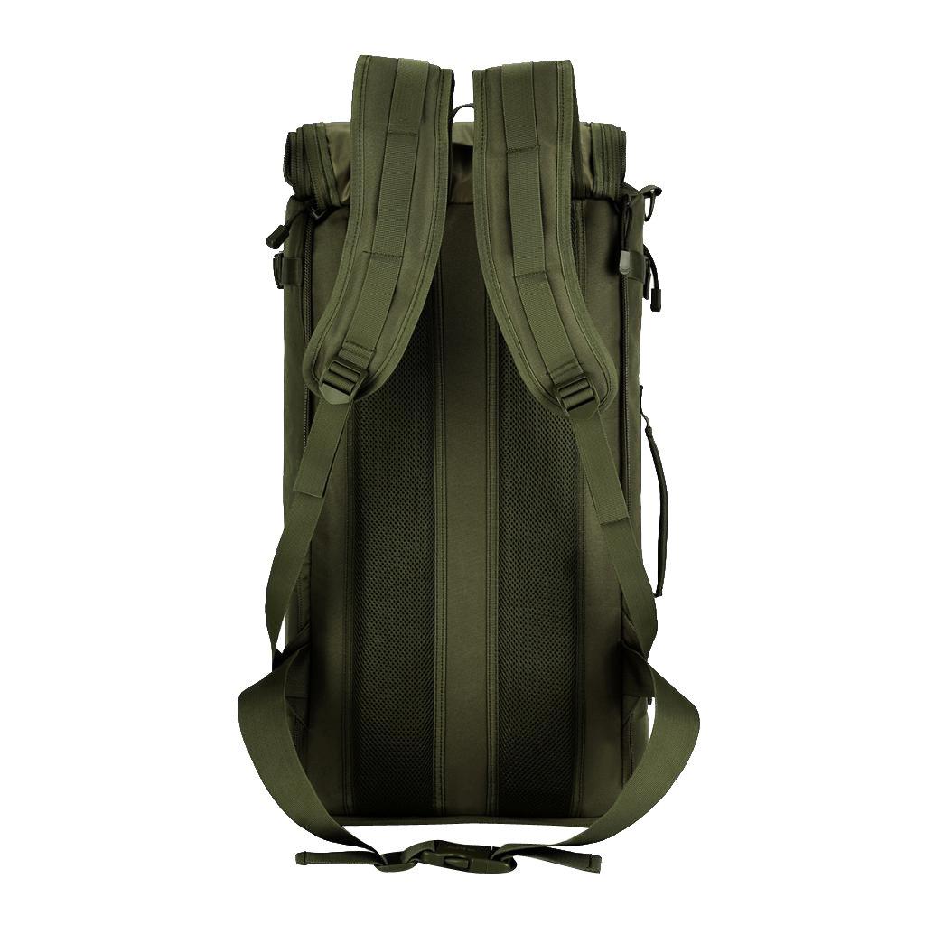 8837c7c292c4 Amazon.com   MagiDeal 50L Camping Travel Rucksack Sport Outdoor Backpack  Hiking Trekking Mountaineering Bag Cross Body Bag - Army Green   Sports    Outdoors