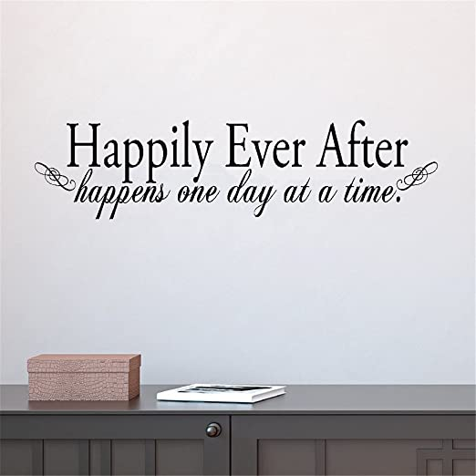 Happily Ever After Wall Sticker Wall Mural Wall Art Decal Wall Quote