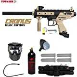 MAddog Tippmann Cronus Tactical Silver Paintball Gun Package