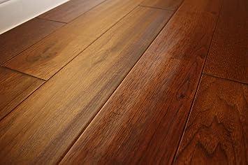 3 4 Hardwood Flooring amazon cherry natural hardwood flooring Elk Mountain Hickory Wild 34 X 5 Hand Scraped Solid Hardwood Flooring