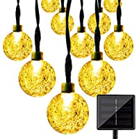 LightsEtc 15.7ft 20LED Solar String Lights