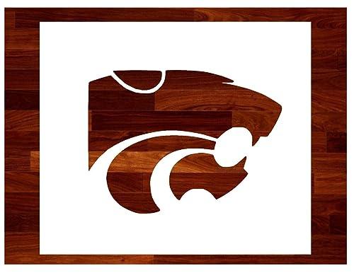 Kansas K-State ~Stencil ~ Multiple Sizes ~ Custom Stencil