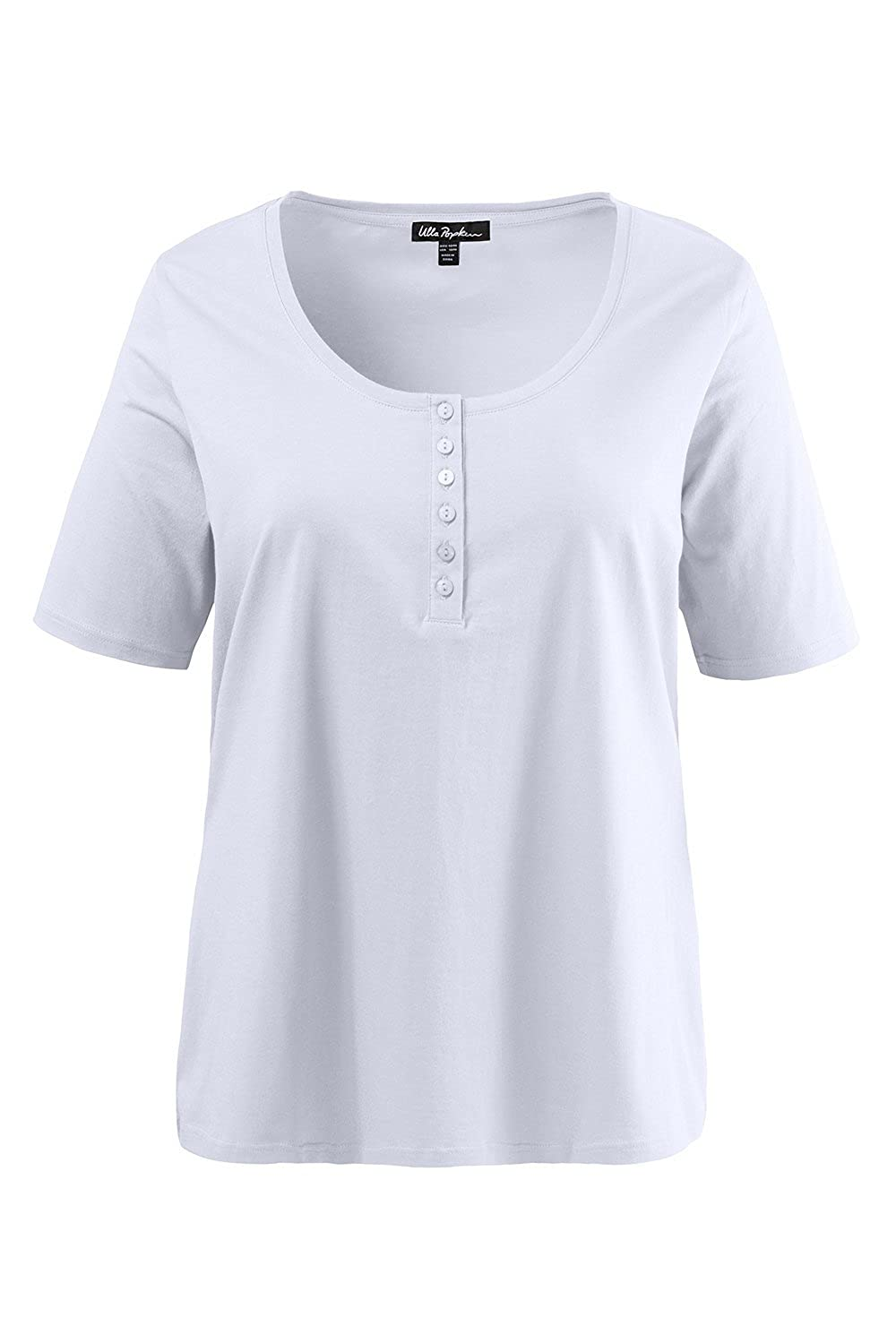 be0df54f496 A wardrobe essential  the classic design henley tee. Relaxed fit to flatter  your figure