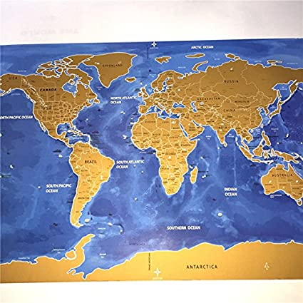deluxe home travel scratch map personalized world map poster vacation national geographic world map wall sticker