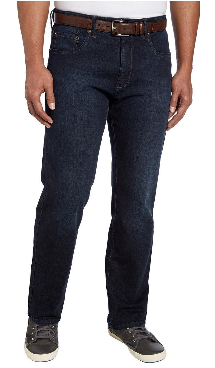 9a910399 Galleon - Urban Star Mens Relaxed Fit Straight Leg Jeans (38 X 34, Black)
