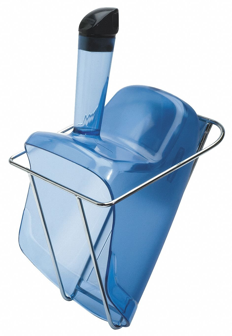 Rubbermaid FG9F5100TBLUE Ice Scoop and Holder - Safe Ice Handling System