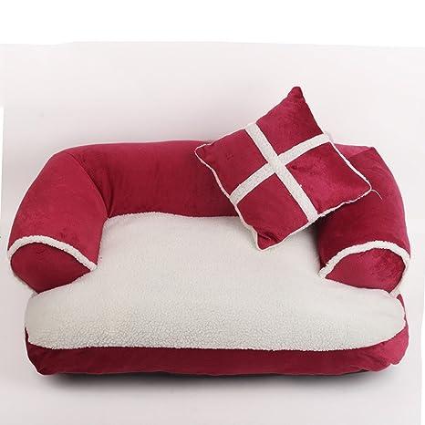 Vellón extra grande de la almohadilla de la almohadilla de la cama del gato del perro ...