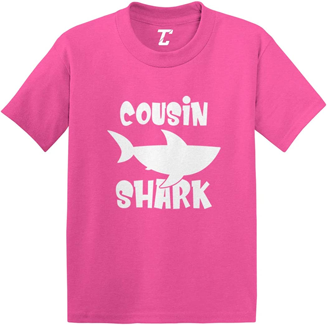 Cousin Shark - Song Parody Funny Infant/Toddler Cotton Jersey T-Shirt