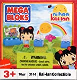 Mega Bloks Ni Hao, Kai-Lan Collectible 10 Pcs Building Blocks Set with Figurine #3144