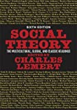 Social Theory 6th Edition