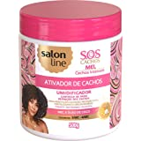 Linha Tratamento (SOS Cachos) Salon Line - Ativador de Cachos Mel Cachos Intensos 500 Gr - (Salon Line Treatment (SOS Curls)
