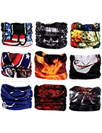 Kingree 9PCS Outdoor Magic Scarf for ATV/UTV riding,...