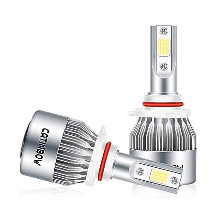 ... 72W 7200LM de Auto Faro 6000K Alta Potencia Blanco Faros IP68 Impermeable de Conducción Bombillas Lámparas Luces Delanteras del Coche de Bombillas HID ...