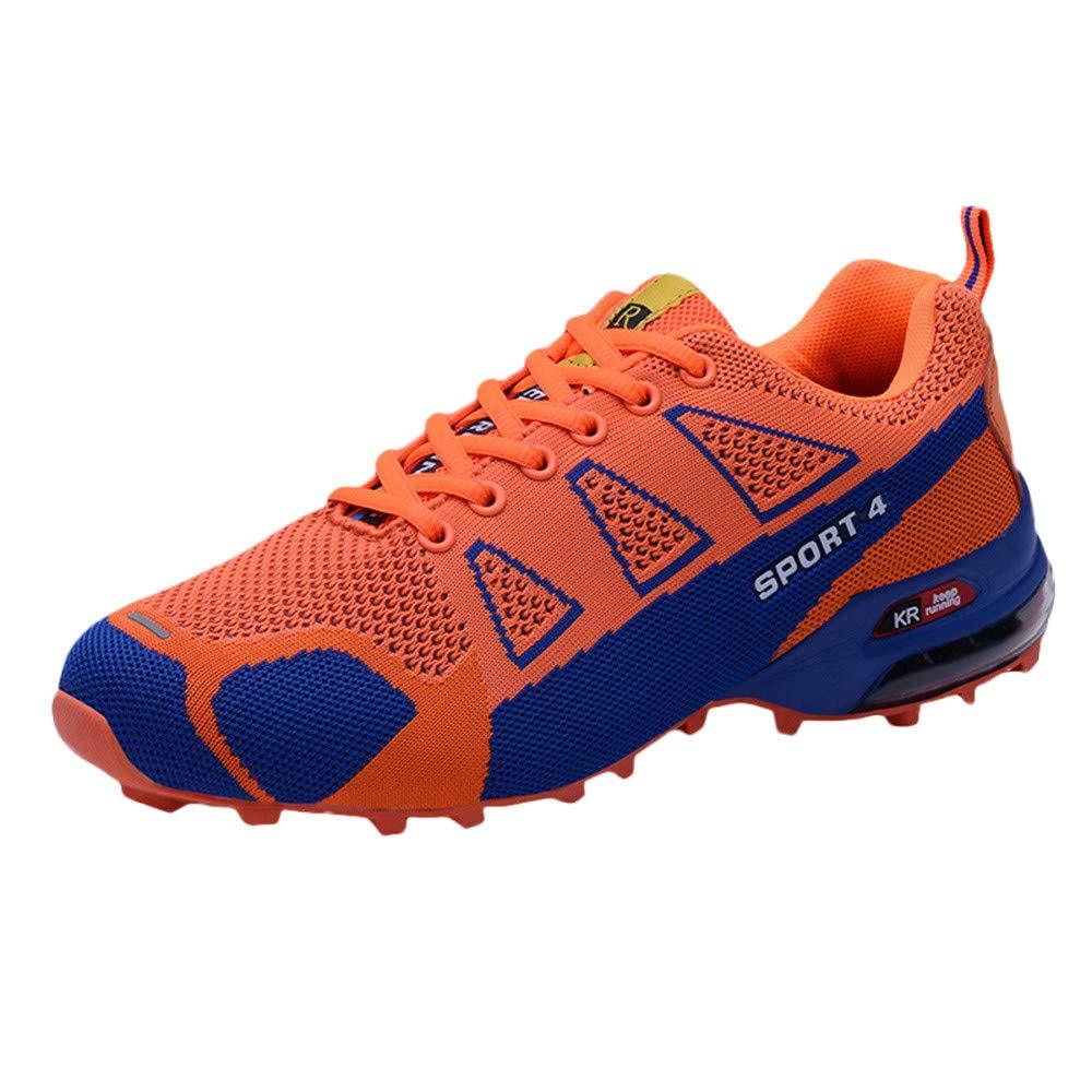 Zapatillas de Senderismo para Hombre, Hombres Casual al Aire Libre Alpinismo Zapato Ligero Transpirable con Cordones Zapatillas