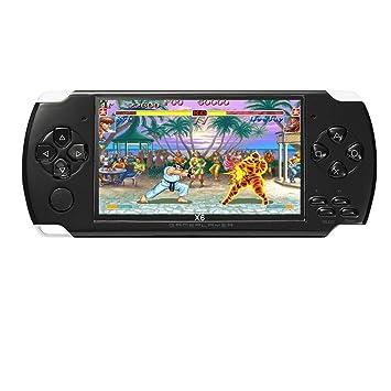 Consola de juegos portátil JXD de 4.3 pulgadas y 8GB incorporada en 1200 + juegos de video reales para juegos gba/gbc/sfc/fc/smd juegos mp3/mp4/mp5 ...