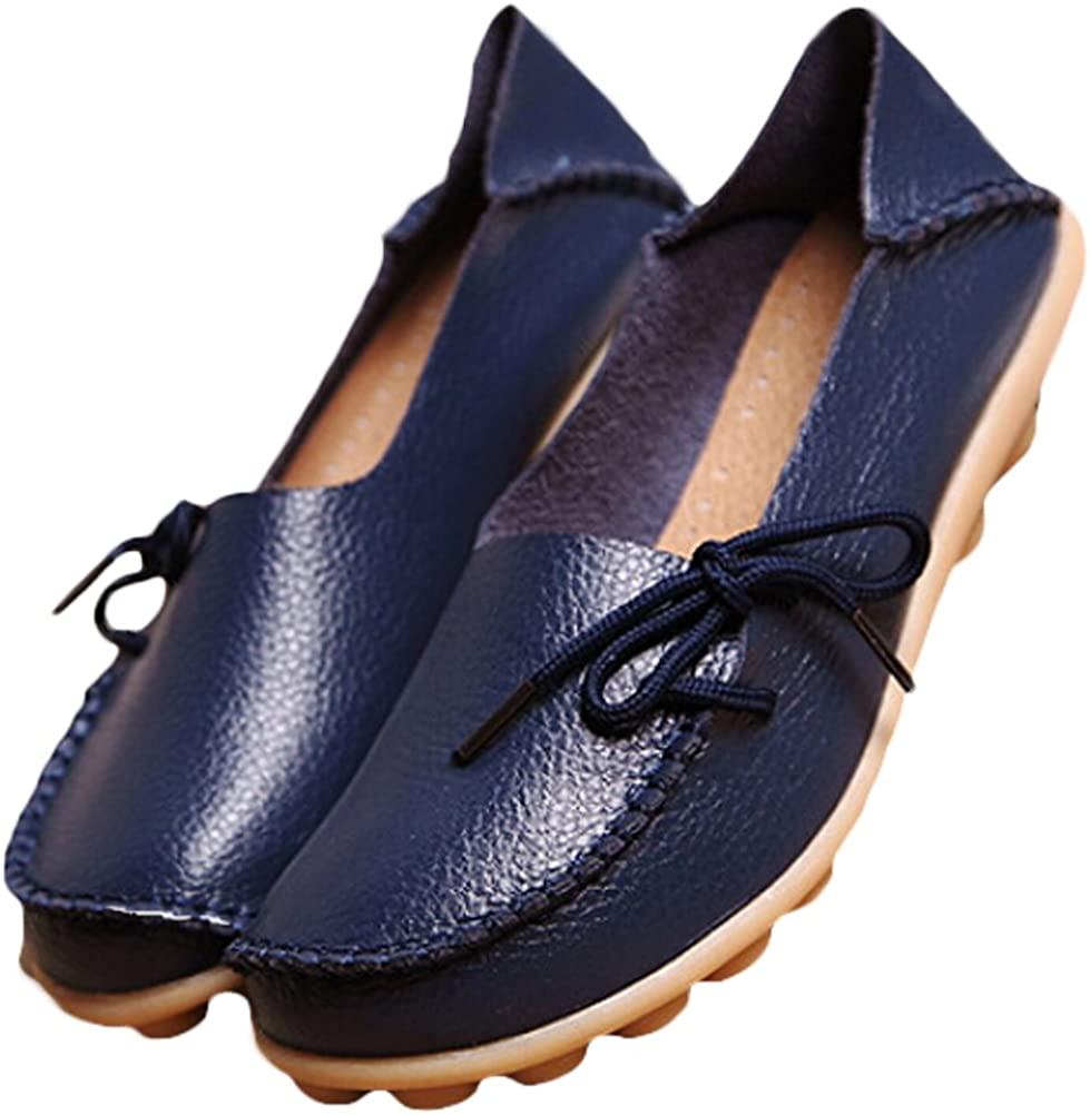 Vogstyle Donna Scarpe col Tacco Basso Piatto Casuali Comfort Pompe Espadrillas Scarpe Stile 1 Blu