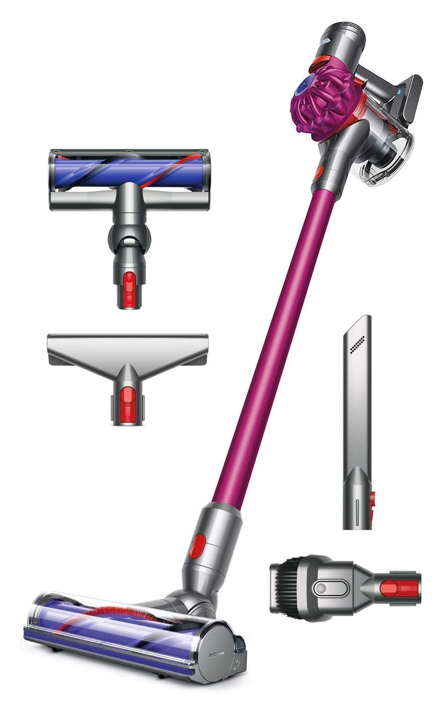 Dyson V7 Motorhead Handheld Cordless Vacuum Cleaner with Manufacturer s Warranty 1 Extra Mattress Tool Bundle
