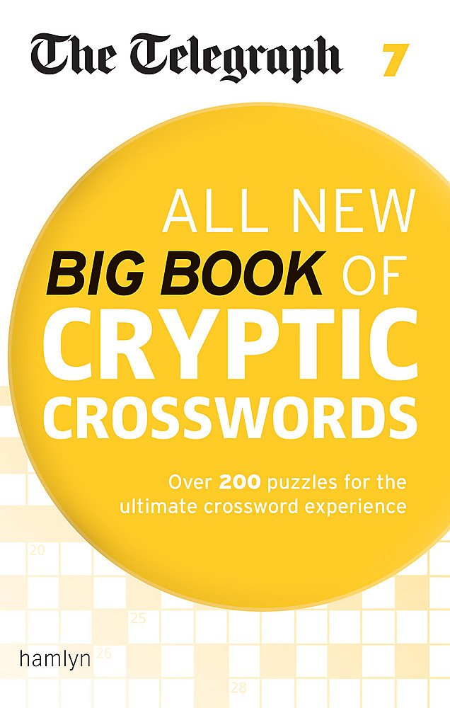 The Telegraph All New Big Book Of Cryptic Crosswords 7  The Telegraph Puzzle Books