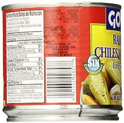 Goya Jalapeno Peppers, Sliced, 11 Ounce