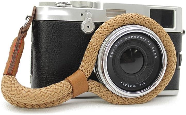LXH Correa de muñeca cámara digital Algodón suave hecho a mano ...
