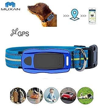 JXFS Rastreador GPS Dog con Ayuda Rescate de Emergencia ...