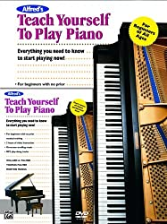 Alfred's Teach Yourself to Play Piano: Everything You Need to Know to Start Playing Now! (Book & DVD)