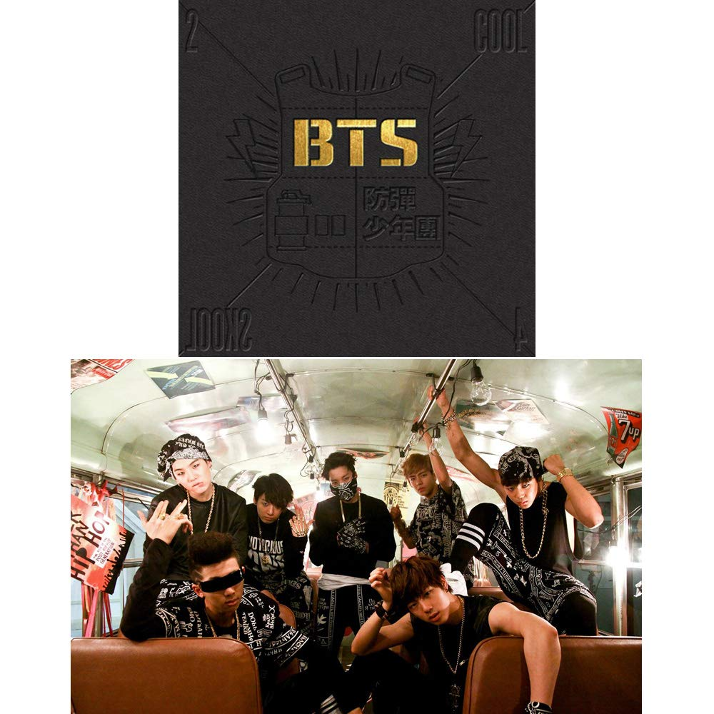 BTS Dark and Wild 1st Album Bangtan Boys Vol.1 CD+Photobook+Photocard+Gift Extra 6 Photocards and 1 Double-Sided Photocard Set