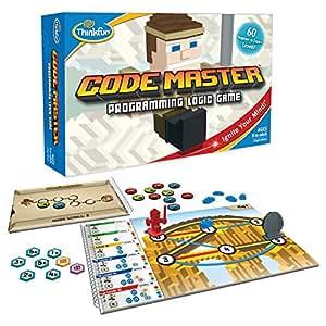 ThinkFun Code Master Programming Logic Game and STEM Toy – Components, Teaches Programming Skills Through Fun Gameplay