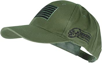 Voodoo Tactical 20-9353 Contractor Baseball Cap w  Sewn on Flag Patch 332e941c29c1