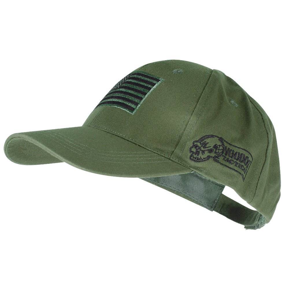 Amazon.com  Voodoo Tactical 20-9353 Contractor Baseball Cap w  Sewn on Flag  Patch b906aa0ff51