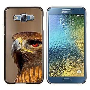 - PREY HUNTING HAWK NATURE ORNITHOLOGY BIRD - Caja del tel¨¦fono delgado Guardia Armor- For Samsung Galaxy E7 E7000 Devil Case