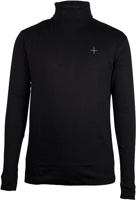 Mountain Warehouse Meribel Camisa Camiseta Jersey de Cuello Alto Polar Hombres Señores