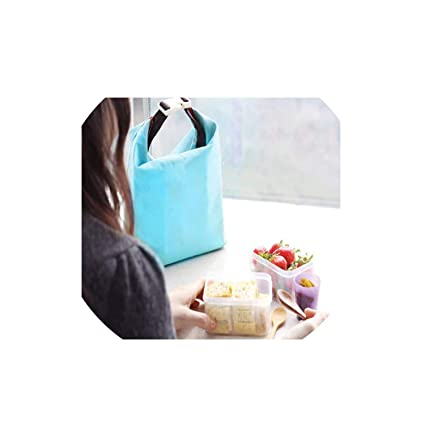 Amazon com: Tote Portable Insulated Lunch Box Pouch Cooler