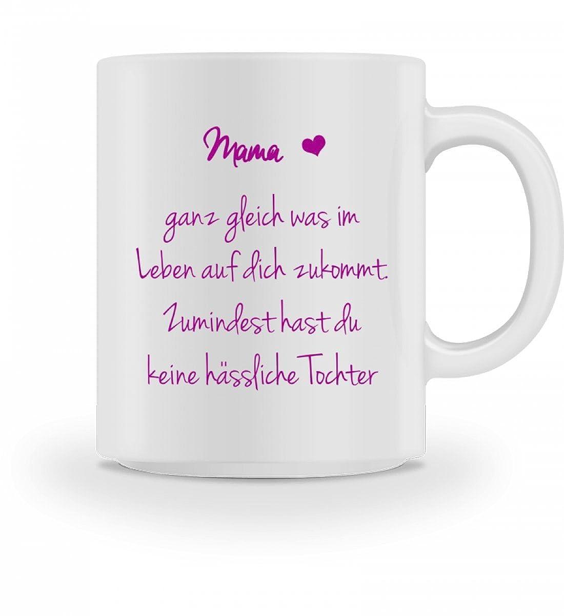 Hochwertige Tasse - Lustiges Geschenk für Mama | Zumindest hast du ...