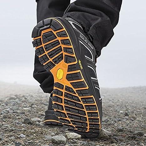 Solid Gear sg7300242 Falcon - Zapatos de seguridad S3 talla 42 NEGRO/NARANJA: Amazon.es: Bricolaje y herramientas