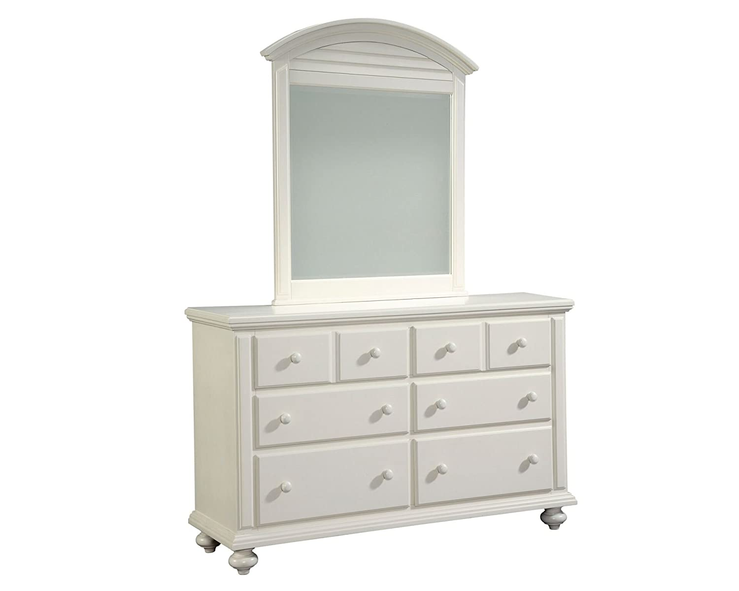 Off White Dresser Amazon.com: Broyhill Seabrooke Dresser Mirror, Cottage - Cream Finish, Off- White: Kitchen u0026 Dining